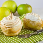 Apple and Custard Meringue Pies