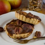 Pecan, Apple and Whiskey Tartlets
