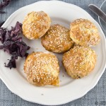 Dillisk, Gubeen Cheese and Sesame Scones