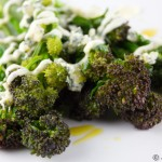 Purple Sprouting Broccoli with Blue Cheese