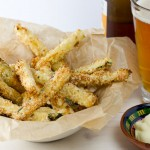 Courgette Chips with Garlic Mayonnaise