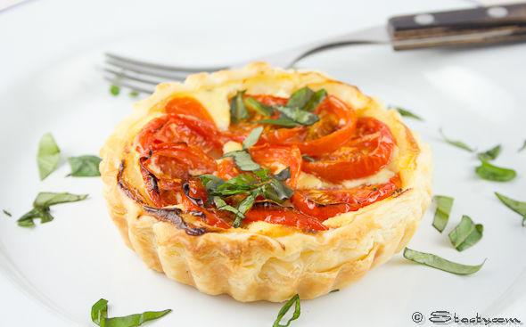 Tomato and Ricotta Tarts – Stasty