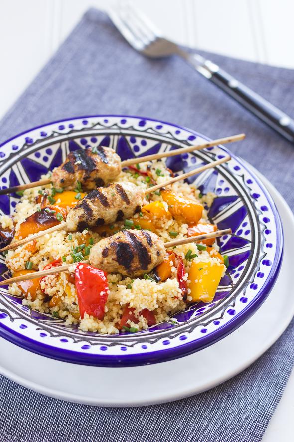 Moroccan Spiced Turkey Kofta