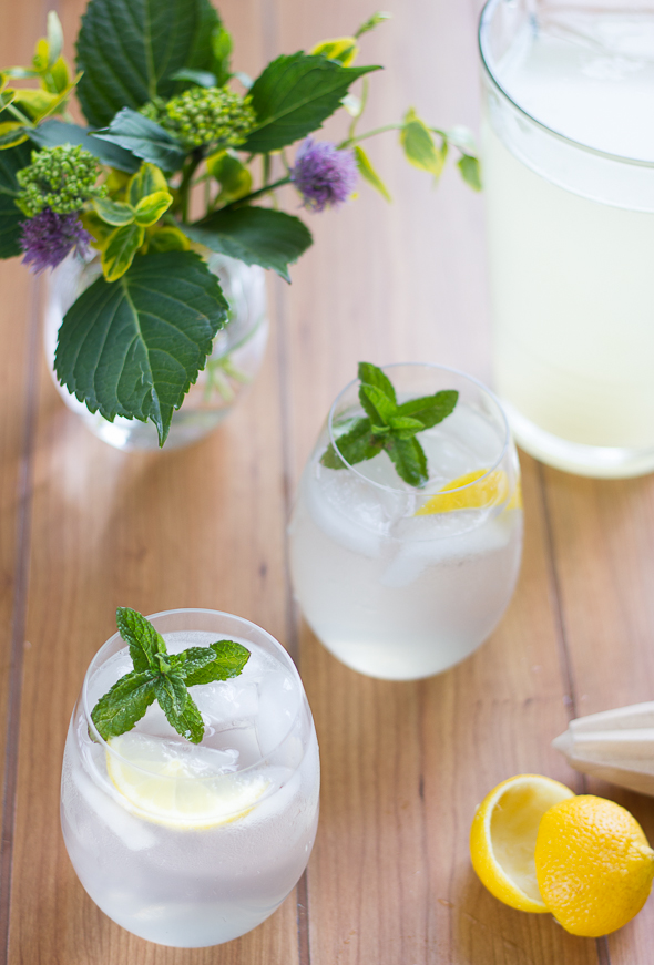 Lemonade, Gin and Tonic