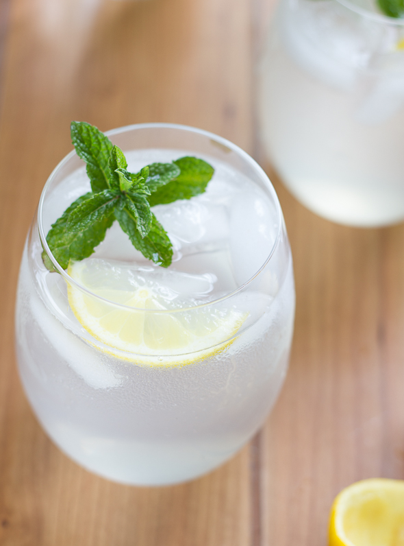 Lemonade Gin and Tonic