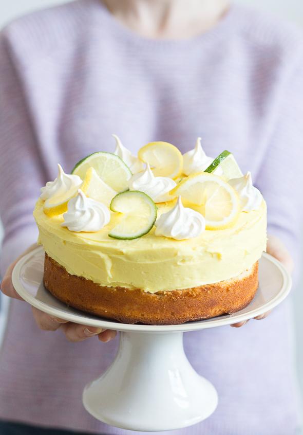 Citrus Surprise Cake