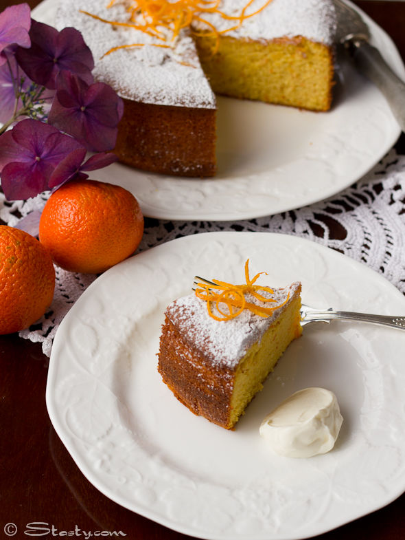 Clementine and Almond Cake