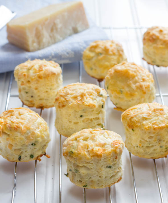 Mini Parmesan Cheese and Herb Scones